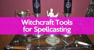Witchcraft tools for spellcasting