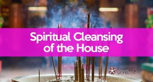 Spiritual cleansing the home