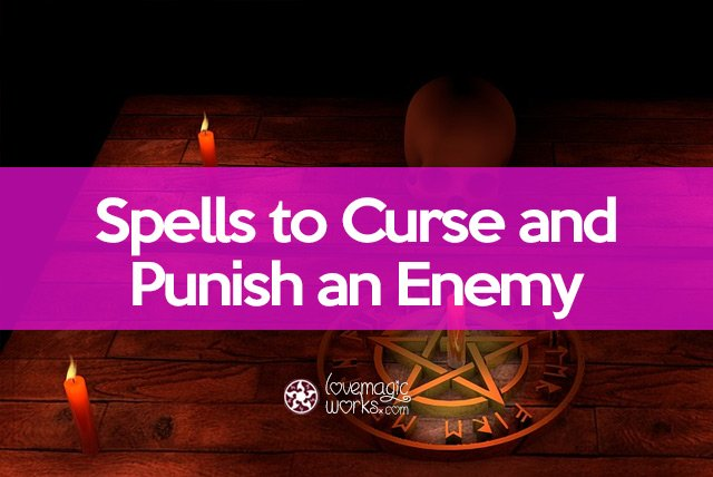 Spells to curse and punish