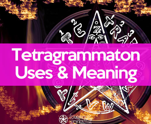 How to conjure the Tetragrammaton