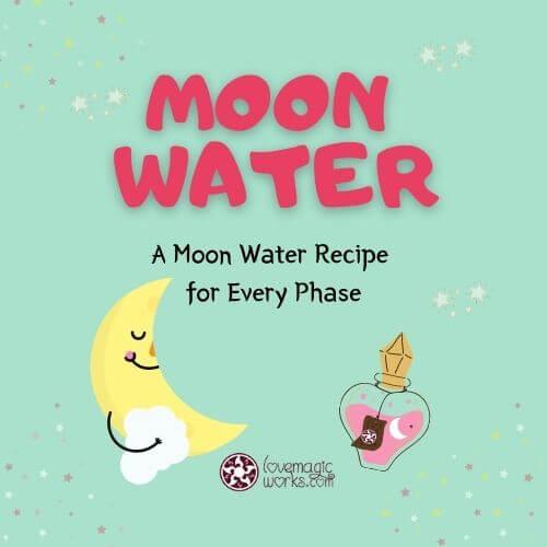 Make Moon Water in Each Lunar Phase